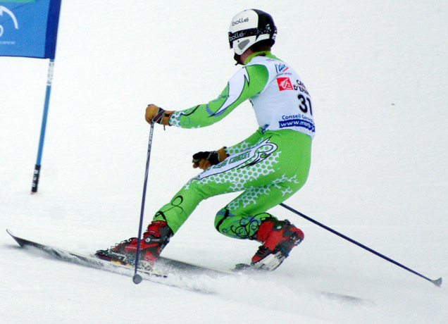 Telemark_competition_gate